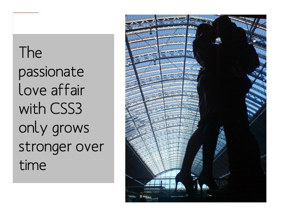 It's Business Time: The Graceful Degradation of CSS3 Slide 3