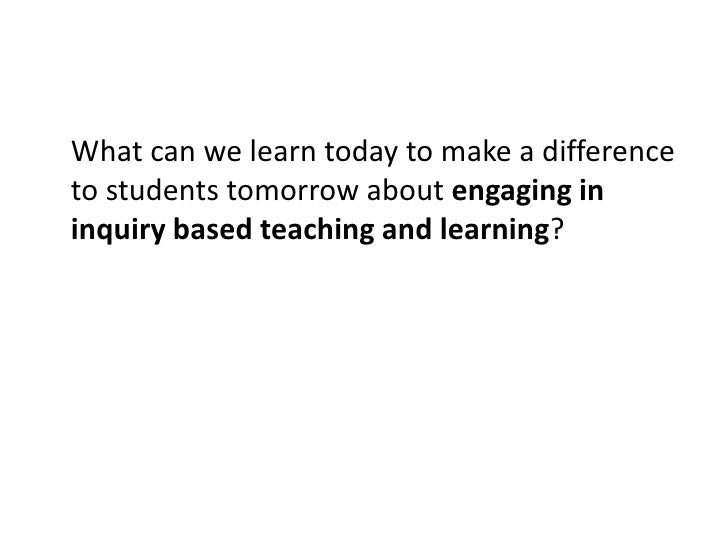 What can we learn today to make a difference to students tomorrow about assessment practices that deepen student learning?...