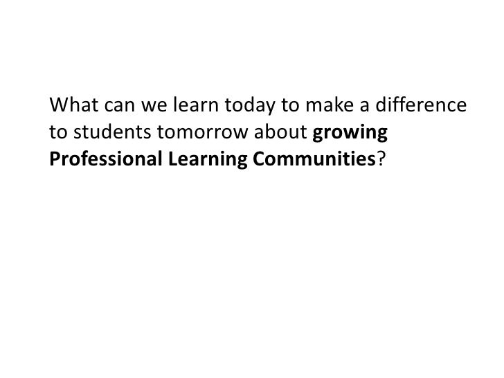 What can we learn today to make a difference to students tomorrow about meeting the diverse needs of students academically...