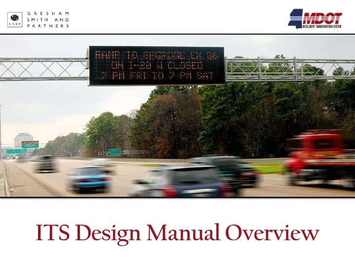 ITS Design Manual Overview
