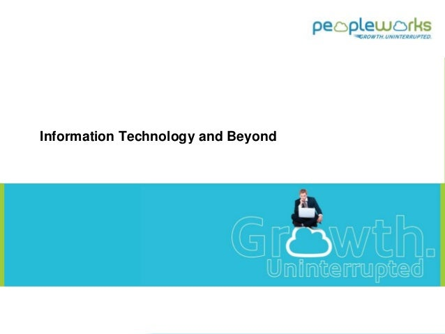 Information Technology and Beyond 1