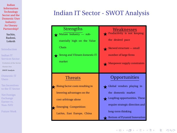 "history of information technology sector in india Private sector enters the computer industry (1978-1990) 29 51 the political   wrote a short paper based on that talk titled ""information technology in india - a."