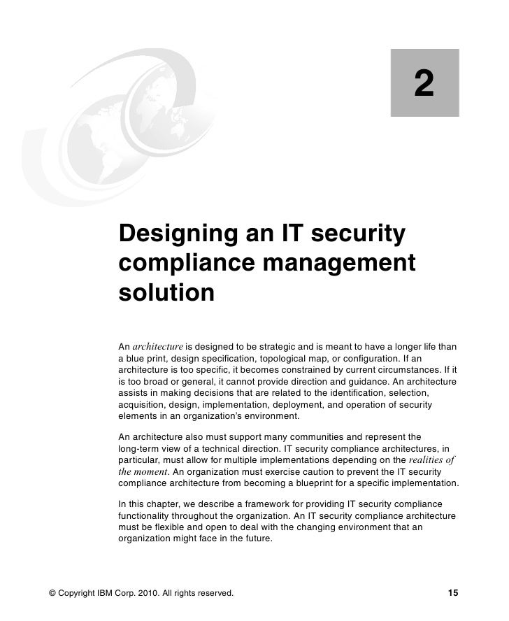 It security compliance management design guide with ibm tivoli securi 15 35 malvernweather Gallery