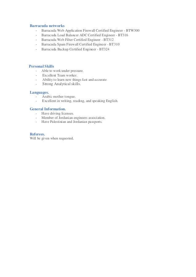 SlideShare  Security Engineer Resume