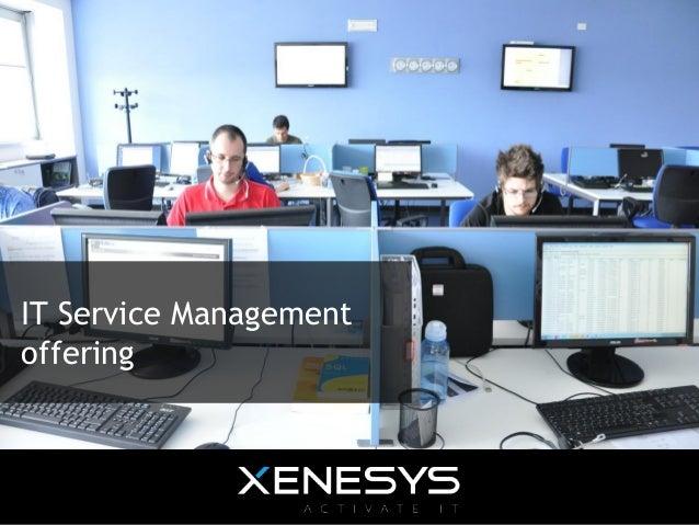 IT Service Management offering