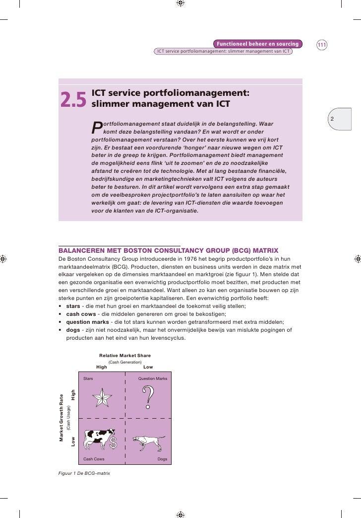 Functioneel beheer en sourcing      111                                                                                   ...