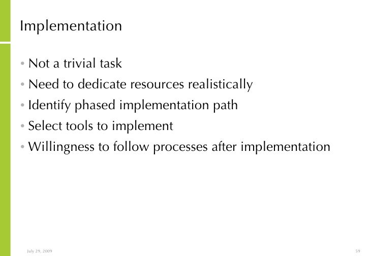 overview of an implementation of an Implementation science: what do we know and where do we go from here connecticut center for effective practice overview of implementation science background.