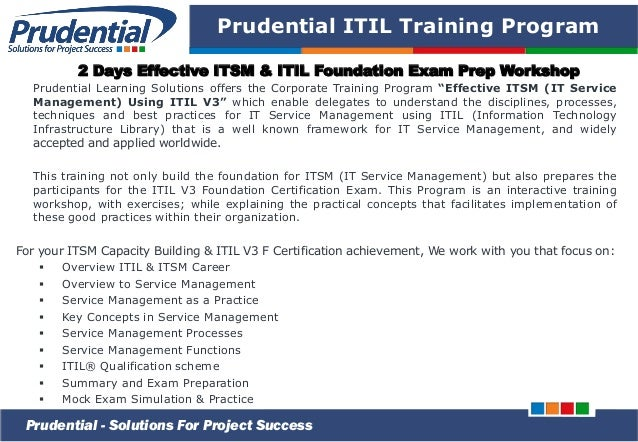 itil v3 foundation for it service management pdf