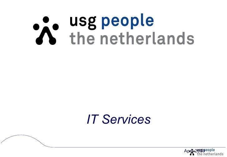 IT Services April 2009