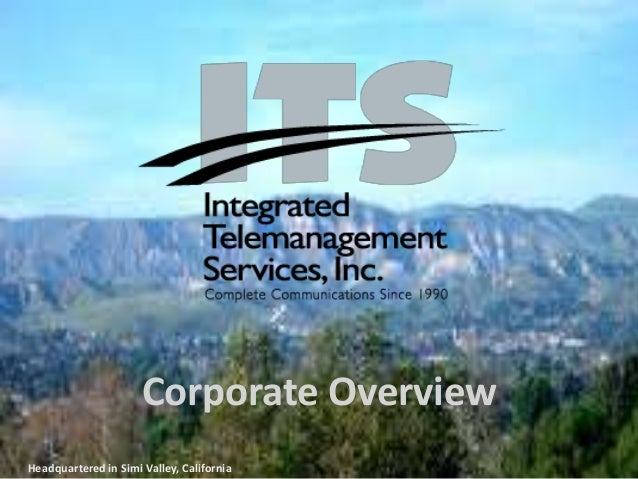 Corporate OverviewHeadquartered in Simi Valley, California
