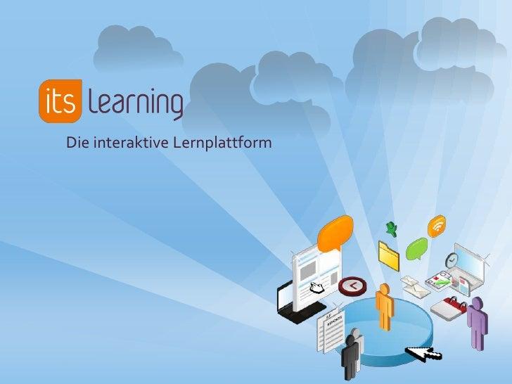 Die interaktive Lernplattform