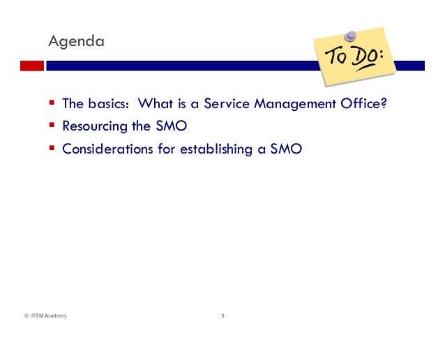 Should You Establish A Service Management Office Smo