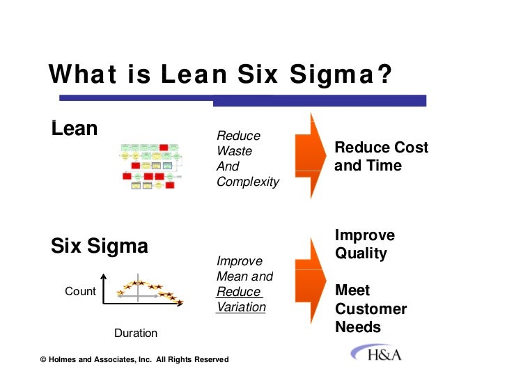 using six sigma to drive tangible service desk improvement and savings