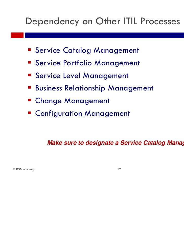 It and business service catalogs 17 dependency on other itil processes service catalog cheaphphosting Gallery