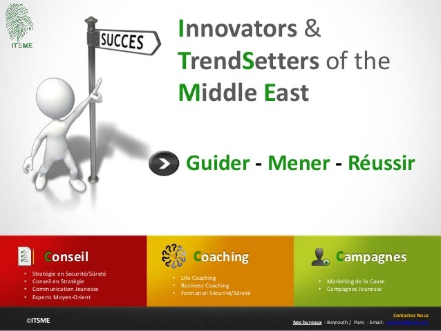 ©ITSME Innovators & TrendSetters of the Middle East Guider - Mener - Réussir Coaching • Life Coaching • Business Coaching ...