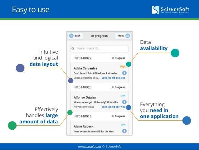 ITSM Task Management Mobile Application
