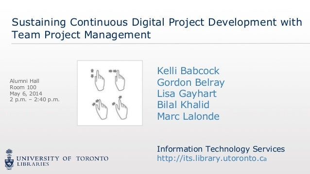 Information Technology Services http://its.library.utoronto.ca Information Technology Services http://its.library.utoronto...