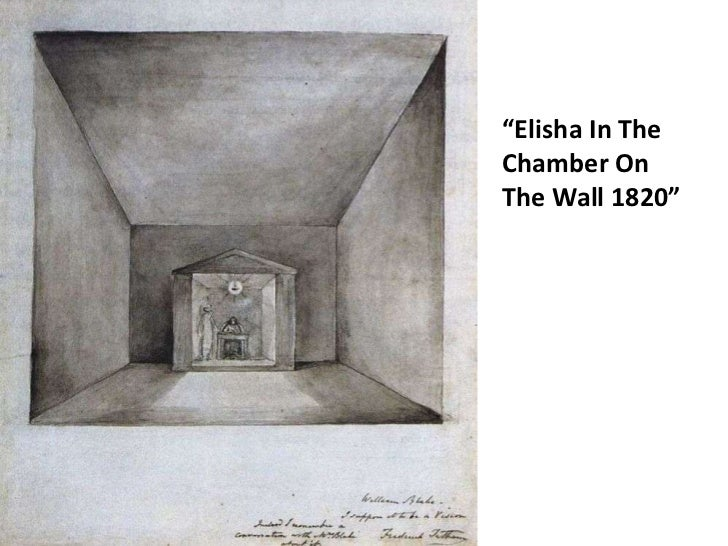"""""""Elisha In The Chamber On The Wall 1820""""<br />"""