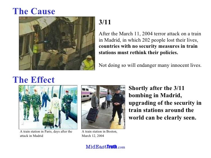 terrorist attacks causes and effects The cause and effects of terrorism print the causes on terrorism in this world the incident of september 11th terrorist attacks on us economy have affected.