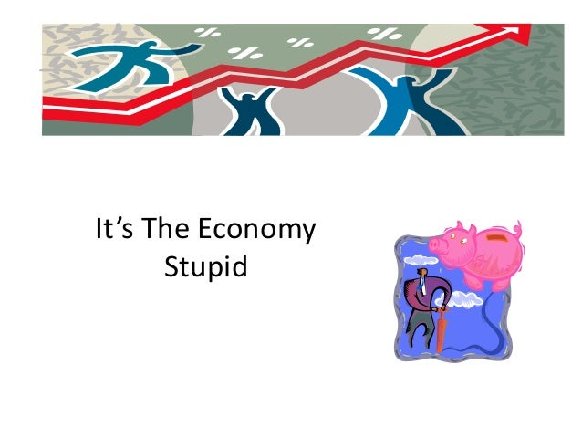 It's The Economy      Stupid
