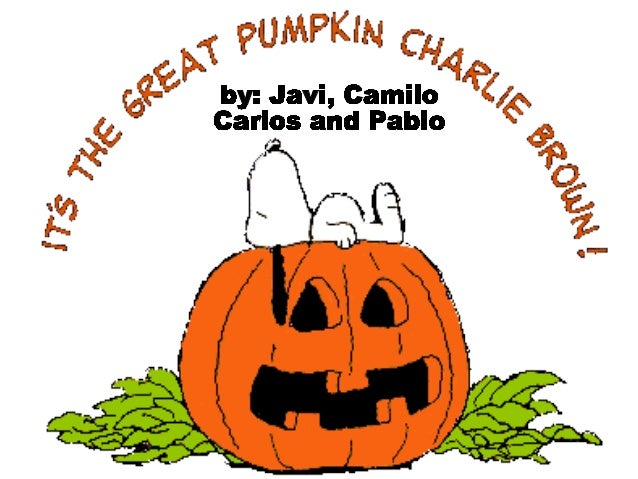 What are you Doing, Linus? I´m waiting the Great Pumpkin That´s ridiculous