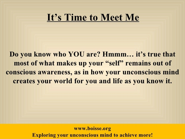 will you meet me