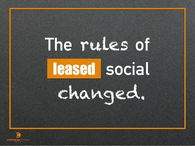 The rules leased of changed. social