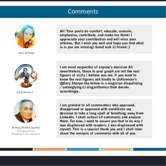 Comments Kerry de Voogd Ali! Your posts do comfort, educate, console, emphasize, contribute, and make me think! I apprecia...