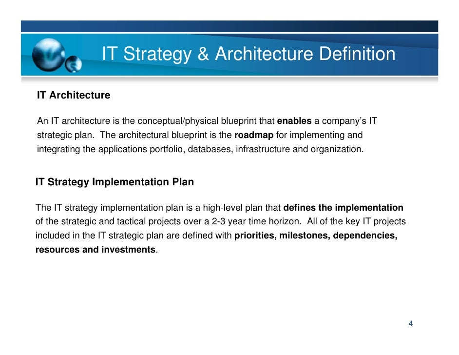 It strategy amp planning 3 4 malvernweather Choice Image