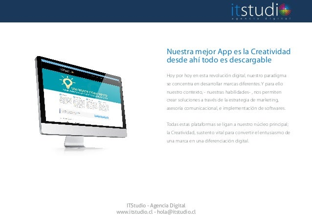 ITStudio.cl - Brochure servicios 2014 Slide 3