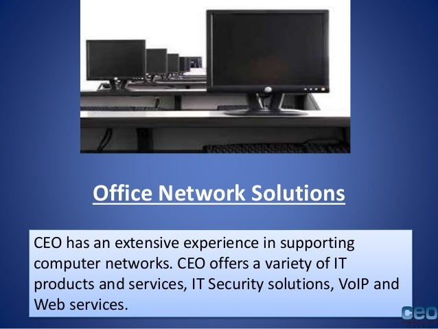 Office Network Solutions It Support In Los Angeles