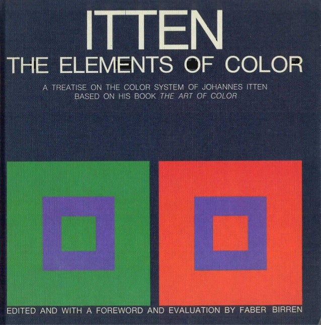 The Art Of Color Itten Pdf