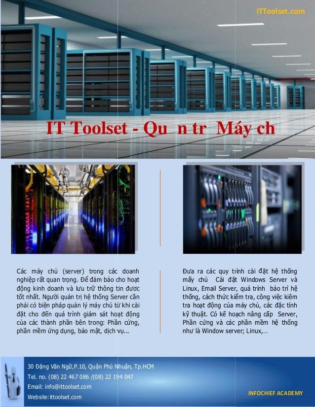 Các máy chủ (server) trong các doanh nghiệp rất quan trọng. Để đảm bảo cho hoạt động kinh doanh và lưu trữ thông tin đươc ...