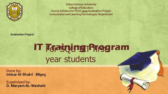 Sultan Qaboos University                                          College of Education                           Course Sy...