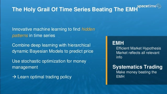 The Holy Grail Of Time Series Beating The EMH Innovative machine learning to find hidden patterns in time series Combine d...