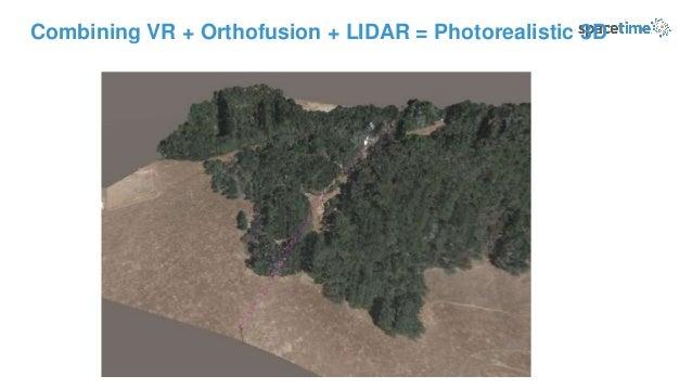 Combining VR + Orthofusion + LIDAR = Photorealistic 3D