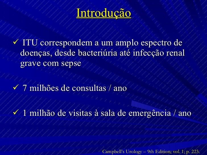 Infe cções do Trato Urinário Slide 2