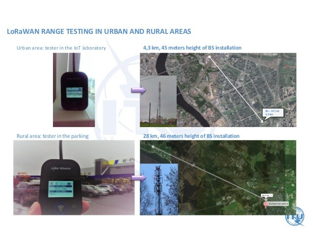 City scale and nationwide LoRa network: deployment