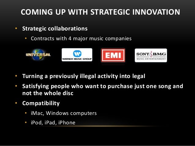 "sony innovation strategy Competitive advantage of sony sony's incredible rise in the field of electronics is due to their innovation and high technology products sony prides itself on its history of ""imagination and innovation"" in the industry."