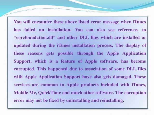 apple application support quicktime