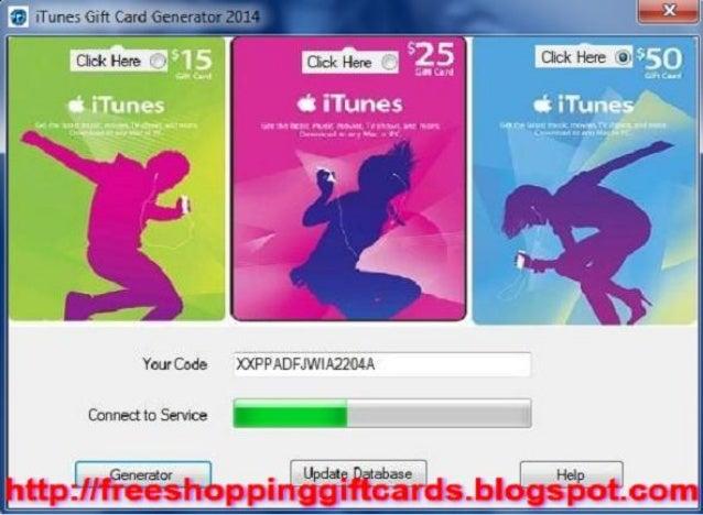 Free Itunes Card Code Generator
