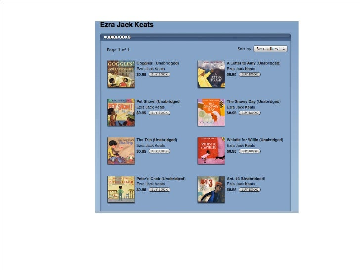 iTunes Audio Picture Books available