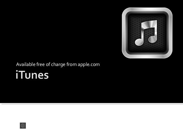 Available free of charge from apple.com by Sam Kaploykeo