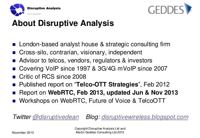 New Opportunities in Voice and Messaging workshop - ITU Telecom World 2013 Slide 2