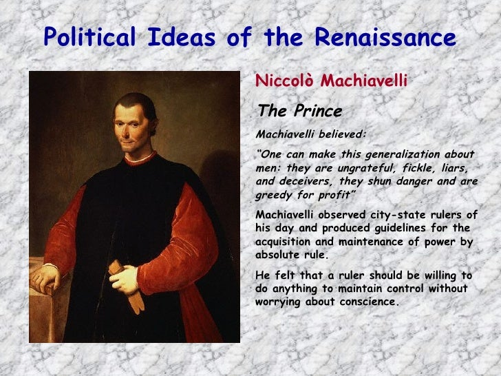 """a sucessful ruler in machiavellis eyes Rather, his case studies of successful rulers repeatedly point to the situation of a prince whose characteristics suited his times but whose consistency of conduct (as in the case of pope julius ii) """"would have brought about his downfall"""" if circumstances had changed (machiavelli 1965, 92."""