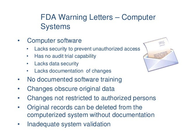 It validation training approved 31 fda warning letters spiritdancerdesigns Image collections