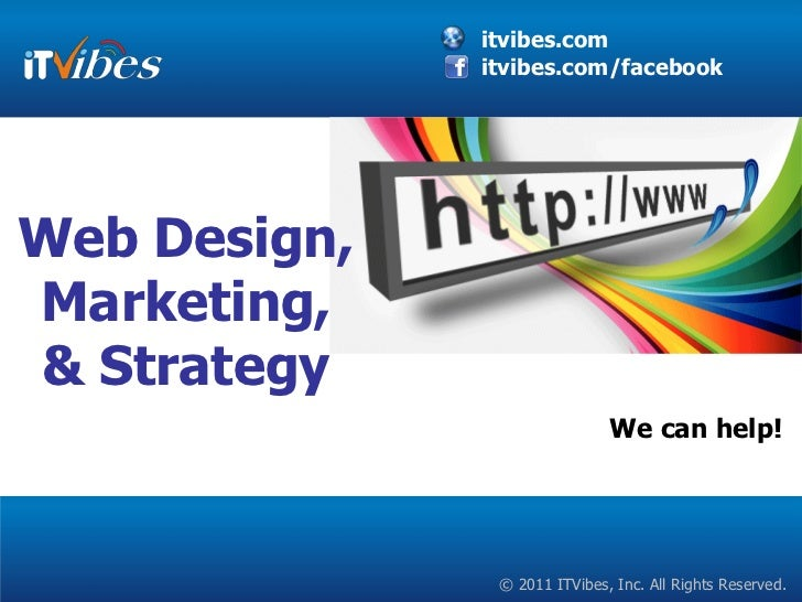 Web Design, Marketing, & Strategy We can help!