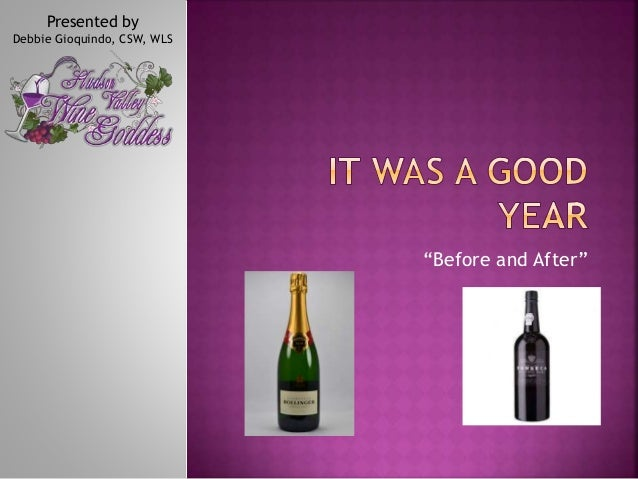 """""""Before and After"""" Presented by Debbie Gioquindo, CSW, WLS"""