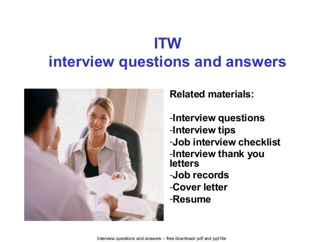 non technical interview questions and answers pdf