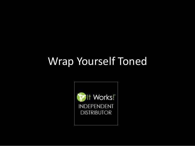 Body Applicator Wraps In The UK From It Works Independent Distributor